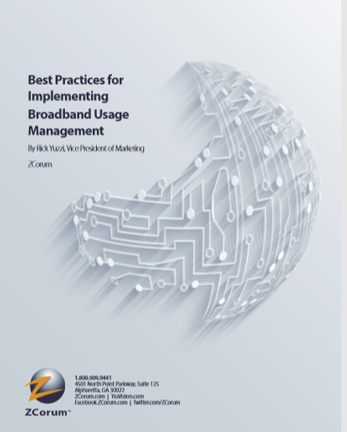 Best Practices Implementing Broadband Usage Managment Whitepaper