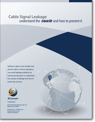 Cable Signal Leakage