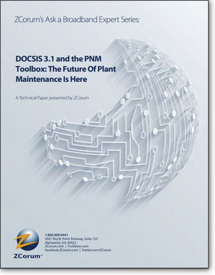 DOCSIS 31 and PNM Toolbox