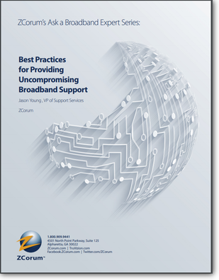 Practices for Providing Uncompoming Broadband Support